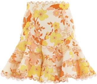 Zimmermann Primrose Flutter Skirt