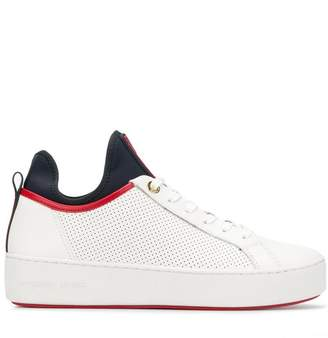 MICHAEL Michael Kors logo tongue sneakers