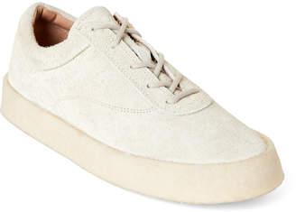 Yeezy Chalk Season 6 Suede Low-Top Sneakers