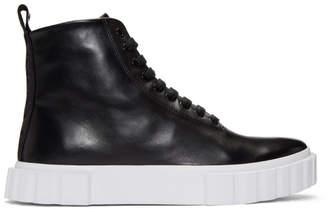 HUGO Black Edge Sneakers