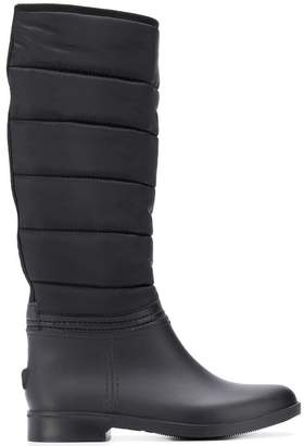 Emporio Armani quilted boots