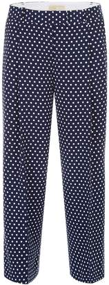 MICHAEL Michael Kors Cropped Polka Dots Trousers