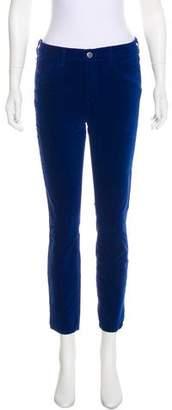 L'Agence Velvet Mid-Rise Jeans w/ Tags