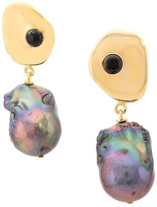 Lizzie Fortunato charm detail earring