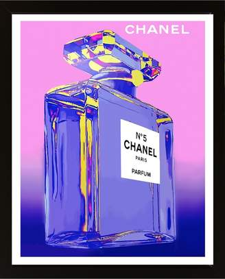 Chanel Pink Print With Frame