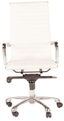 Moe's Home Collection Omega High Back Office Chair, White