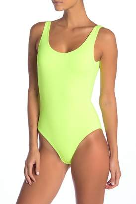 Onia Kelly Solid One-Piece Swimsuit