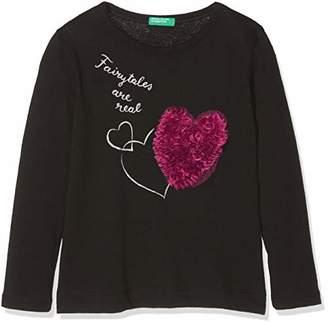 Benetton Girl's T-Shirt L/s,(Size: XX)