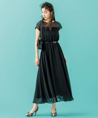 Kumikyoku (組曲) - 組曲 【PRIER】肩レースウエストゴム ドレス(C)FDB