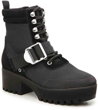 Steve Madden Nayra Platform Combat Boot - Women's