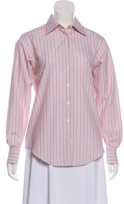 Brooks Brothers Long Sleeve Button-Up Top