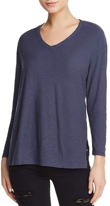 Dexter Michelle by Comune Long-Sleeve V-Neck Tee