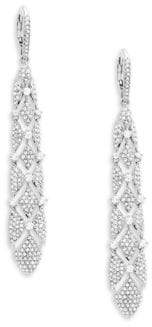 Adriana Orsini Naga Pavé Drop Earrings