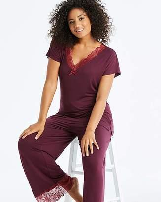 Pretty Secrets Ella Lace Berry PyjamaSet