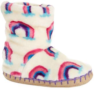 Hatley Rainbow Slipper Booties