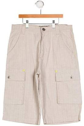 Catimini Boys' Canvas Cargo Shorts