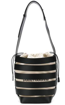 Paco Rabanne cage-style hobo large tote