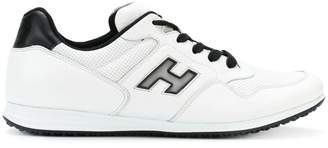 Hogan panelled lace-up sneakers