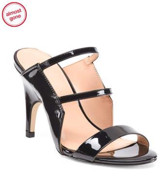 Stiletto Heel Slide Sandals