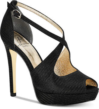 Adrianna Papell Rosalie Platform Evening Sandals Women Shoes