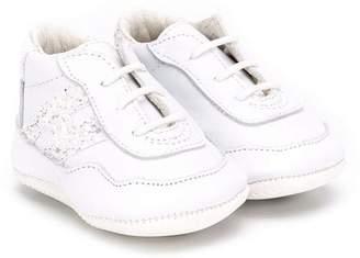 Hogan sequin logo sneakers