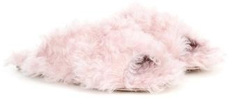 Exclusive to mytheresa.com – faux-fur slides