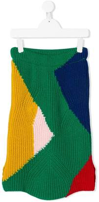 Bobo Choses knitted midi skirt