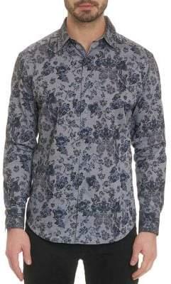 Robert Graham Barker Print Button-Down Shirt