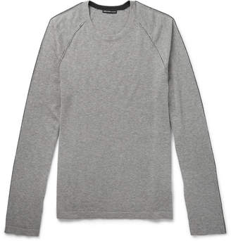 James Perse Cotton, Cashmere and Wool-Blend Sweater