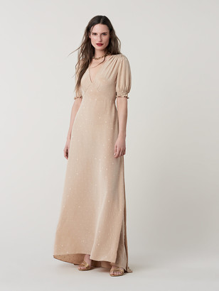 Diane von Furstenberg Avianna Silk Crepe de Chine Maxi Dress