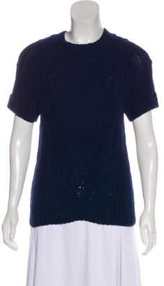 Belstaff Cashmere Short Sleeve Top
