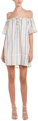 J.o.a. Off-The-Shoulder Shift Dress