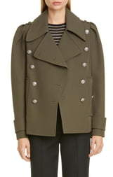 Michael Kors Collection Military Peacoat