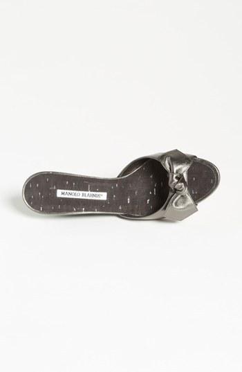 Manolo Blahnik 'Liss' Slide Sandal