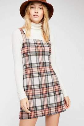 Taylor Check Mini Dress