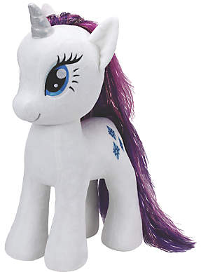 My Little Pony Ty Rarity Extra Large Beanie Soft Toy, 70cm
