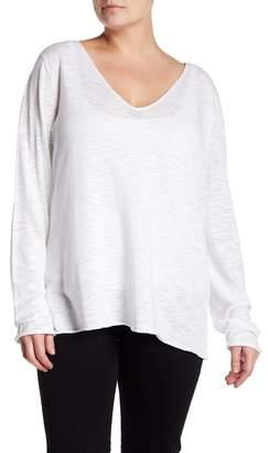 Susina Lightweight V-Neck Sweater (Plus Size)