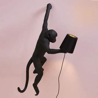 Graham and Green Monkey Light Black Lamp Shade