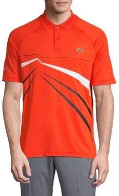 Lacoste Logo Raglan-Sleeve Polo