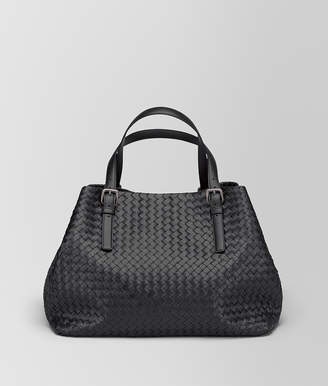Bottega Veneta NERO INTRECCIATO NAPPA LARGE CESTA BAG