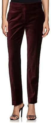 A.L.C. Women's Harrison Velvet Trousers - Wine