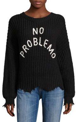 Wildfox No Problemo Rib-Knit Sweater $188 thestylecure.com
