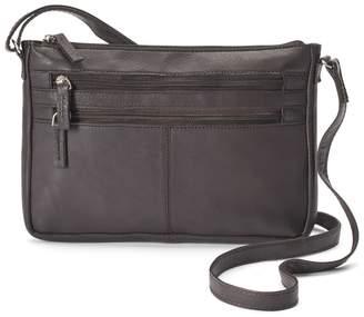 R&R Leather East West Crossbody Bag