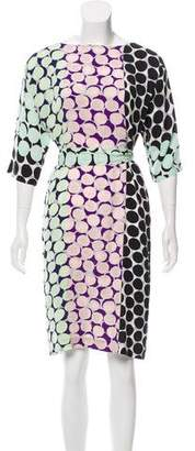Diane von Furstenberg Maja Two Silk Dress