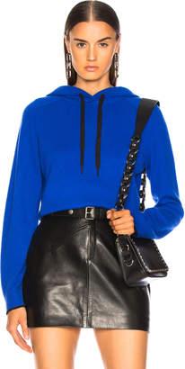 Rag & Bone Yorke Cashmere Hoodie in Bright Blue | FWRD