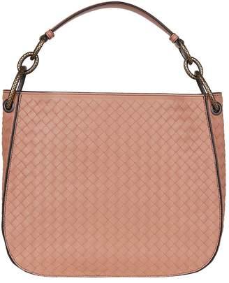 Bottega Veneta Small Leather Intrecciato Loop Bag