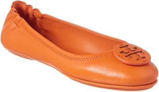 Tory Burch Minnie Travel Leather Ballet Flat