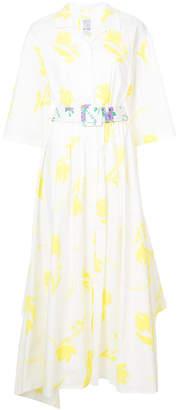 Rosie Assoulin poplin belted Tulips dress