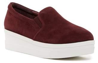 J/Slides Genna Leather Slip-On Sneaker