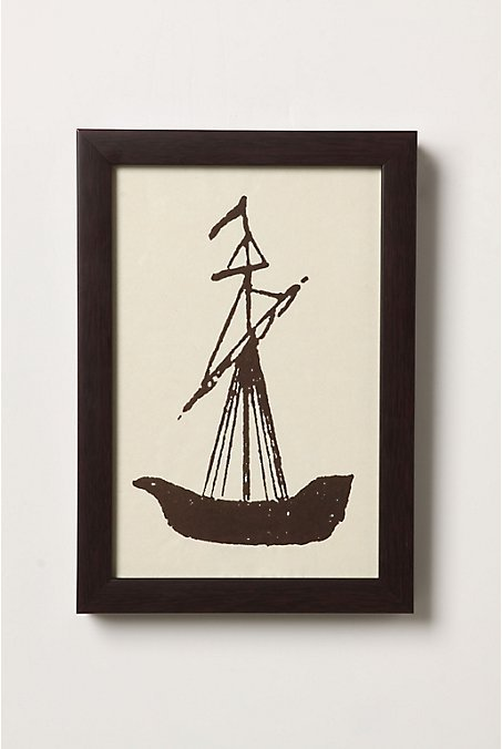 Sailing Ship Sketch